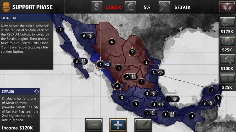 Screenshot NarcoGuerra